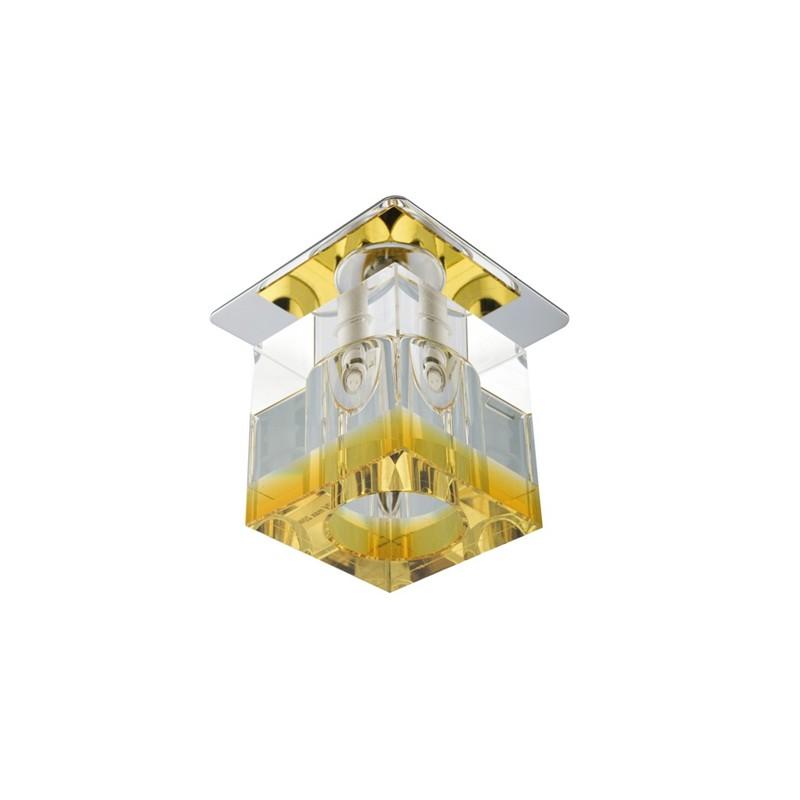 Oprawy-sufitowe-stale - oprawka sufitowa sk-19 pomarańcz g4 12v 2280038 candellux firmy Candellux