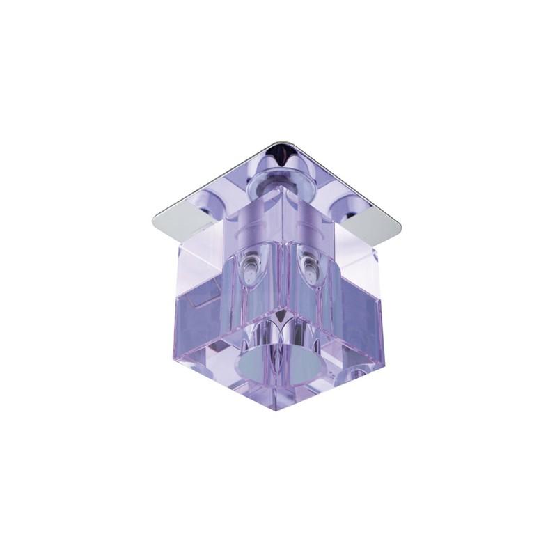 Oswietlenie - oświetlenie sufitowe punktowe kryształ fiolet sk-18 2280090 candellux firmy Candellux