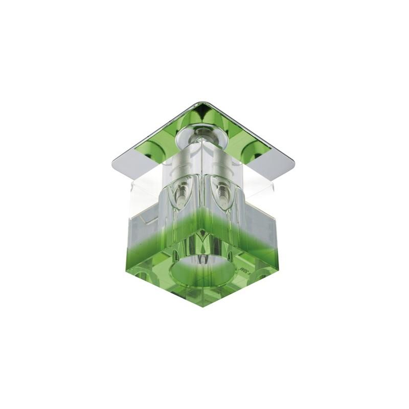 Oprawy-sufitowe-stale - oprawa stropowa stała g4 zielony kryształ sk-18 2280205 candellux firmy Candellux