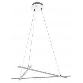 ANDROS LAMPA WISZACA 70X62 30W LED SREBRNY 4000K APETI