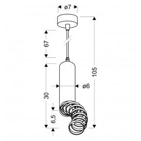 Lampy-sufitowe - lampa wisząca sufitowa biała z regulowanymi pierścieniami gu10 50w 31-77707 candellux