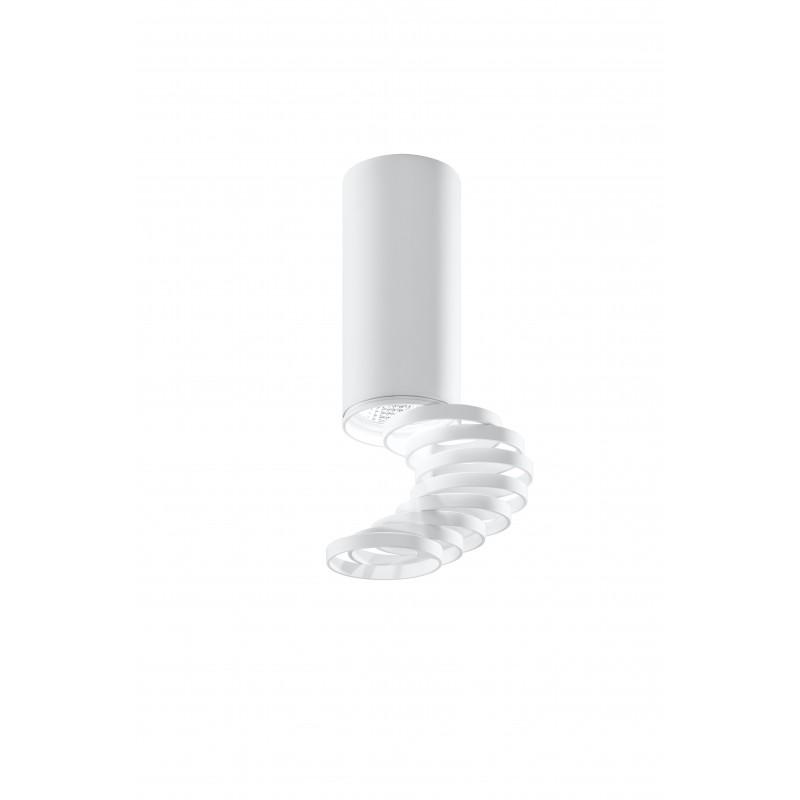 Oprawy-sufitowe - oprawa sufitowa o mocy 50w gu10 regulowane pierścienie 2282725 candellux firmy Candellux