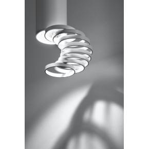 Oprawy-sufitowe - sufitowa oprawa w kształcie tuby gu10 z regulowanymi pierścieniami 50w 2282756 candellux