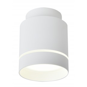 Oprawy-sufitowe - biała lampa sufitowa led tuba neutralne światło 4000k 12w 2275918 candellux