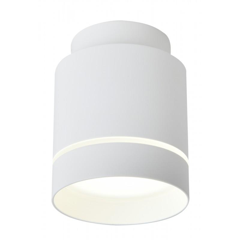 Oprawy-sufitowe - biała lampa sufitowa led tuba neutralne światło 4000k 12w 2275918 candellux firmy Candellux