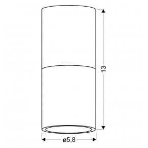 Oprawy-sufitowe - lampa sufitowa tuba biały/drewniany gu10 2273655 candellux