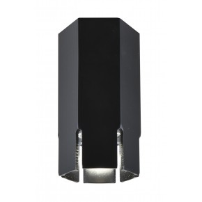 LAMPA SUFITOWA TUBA 1X25W GU10 6,3/12 CZARNY