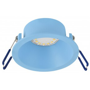 SA-12 BL GU10 MAX 35W 230V oczko sufitowe  lampa sufitowa   kolor niebieski  aluminiowa