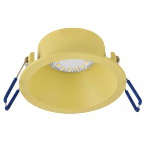 SA-12 YE GU10 MAX 35W 230V oczko sufitowe  lampa sufitowa  kolor żółty  materiał aluminim  kolor żółty