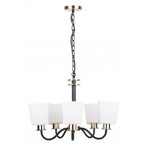 SCHUBERT LAMPA WISZĄCA 5X40W E27 CZARNY