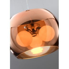 Lampy-sufitowe - lampa wisząca z transparentnym kloszem 30 3x40w g9 gemo 31-25104 candellux