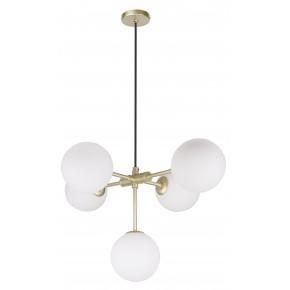 Lampy-sufitowe - lampa wisząca sufitowa na 5 żarówek g9 28w mati 35-73778 candellux