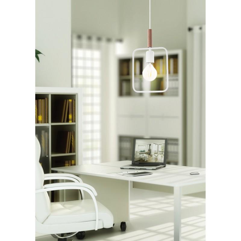 Lampy-sufitowe - wiszącą lampa nad wyspę biała frame 31-73563 candellux firmy Candellux