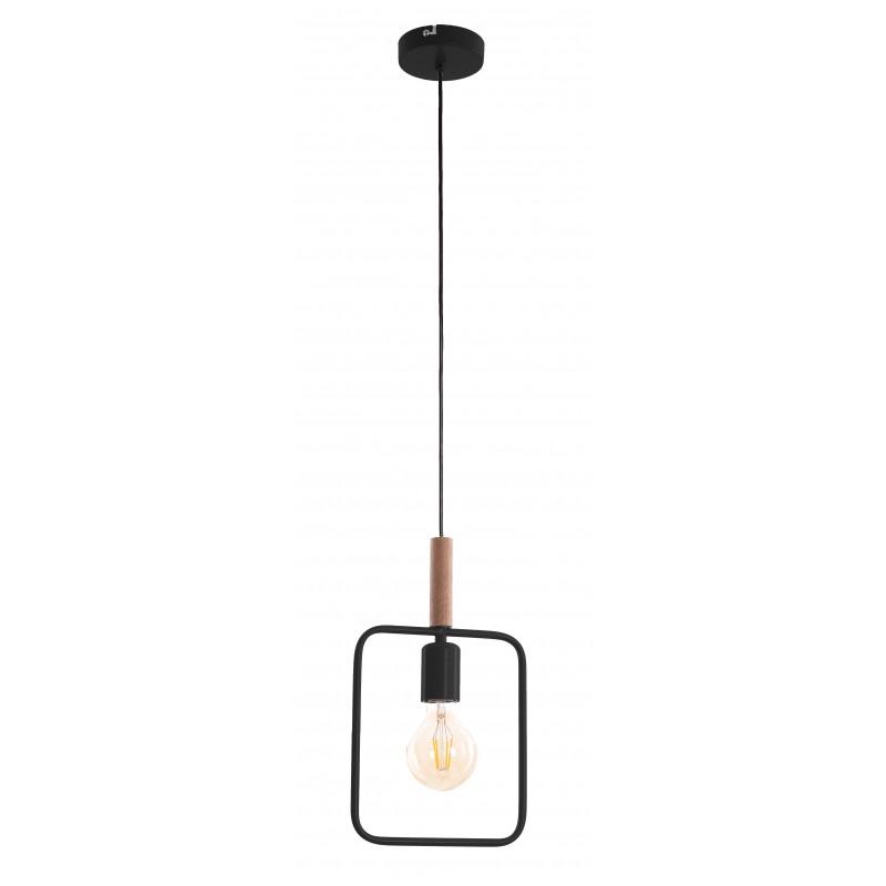 Lampy-sufitowe - lampa loftowa wisząca na żarówkę e27 frame 31-73501 candellux firmy Candellux