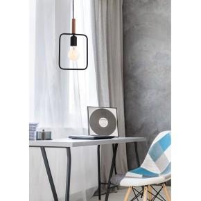Lampy-sufitowe - lampa loftowa wisząca na żarówkę e27 frame 31-73501 candellux