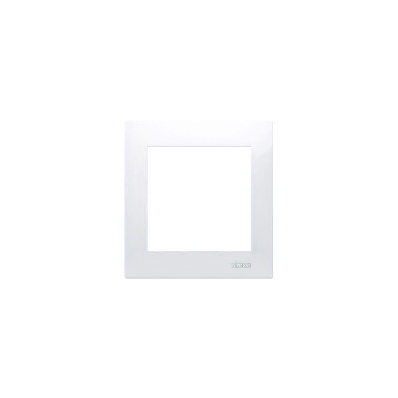 Ramki-pojedyncze - biała ramka pojedyncza dr1/11 simon 54 premium kontakt-simon firmy Kontakt-Simon