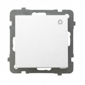 """Włącznik zwierny """"światło"""" biały ŁP-5G/00 AS OSPEL"""