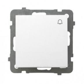 Przycisk dzwonkowy biały ŁP-6G/M/00 AS OSPEL