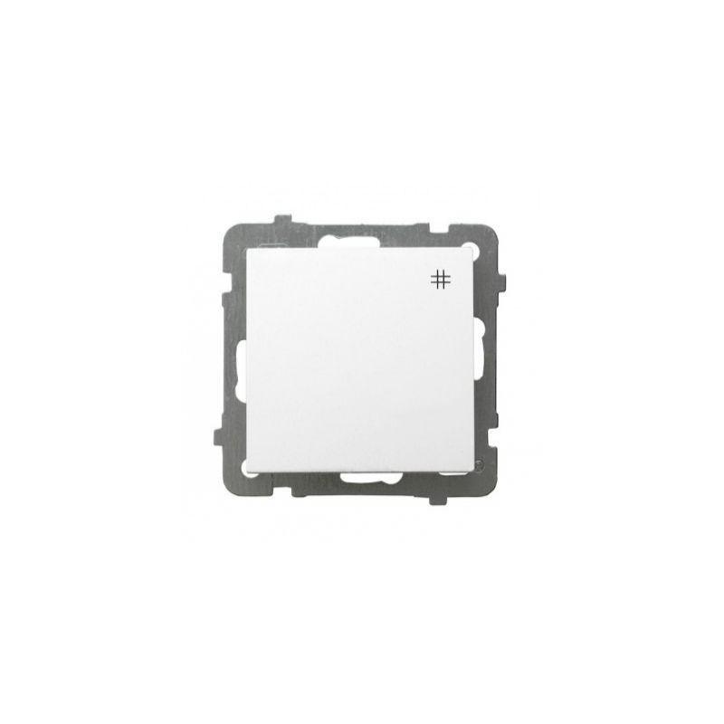 Biały włącznik krzyżowy ŁP-4G AS OSPEL