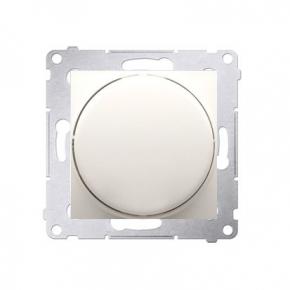 Ściemniacz do LED naciskowo-obrotowy jednobiegunowy kremowy DS9L.01/41 Simon 54 Kontakt-Simon