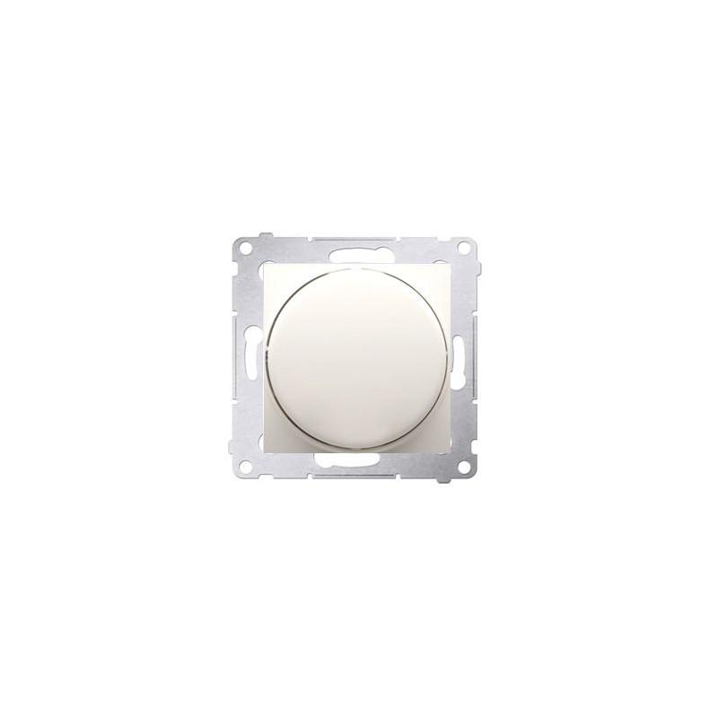 Regulatory-oswietlenia - ściemniacz do led naciskowo-obrotowy jednobiegunowy kremowy ds9l.01/41 simon 54 kontakt-simon firmy Kontakt-Simon