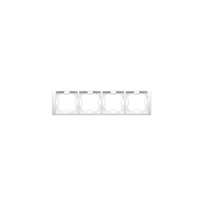 Ramka biała poczwórna BMRC4/11 Simon Basic Neos Kontakt-Simon