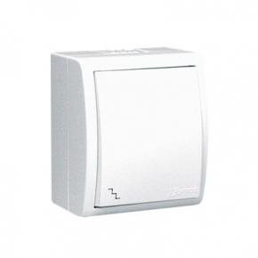 Włącznik schodowy z podświetleniem biały AQW6L/11 Simon Aquarius Kontakt-Simon