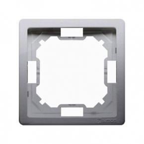 Ramka pojedyncza inox BMR1/21 Simon Basic Standard Kontakt-Simon