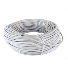 Przewody-omy - przewód omy 2x1 mm krążek 100 m