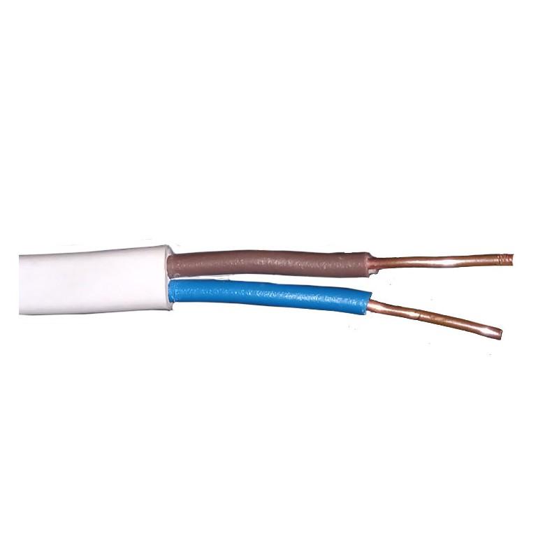 Przewody-ydyp - przewód elektryczny ydyp 2x1.5 mm 450*750v płaski firmy