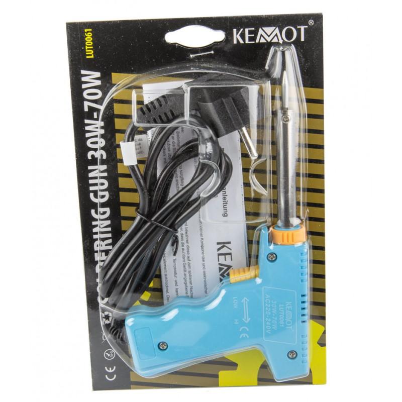 Pozostale-elektronarzedzia - lutownica kolbowa niebieska 30-70w 230v lut0061 kemot firmy KEMOT