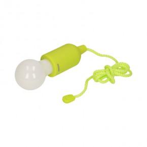 Lampy-sufitowe - limonkowa lampka na camping na baterie or-la-1407/l orno