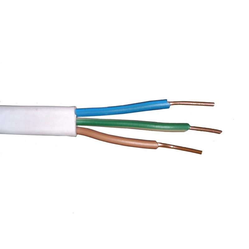 Przewody-ydyp - przewód miedziany ydyp 3x1,5mm2 drut firmy