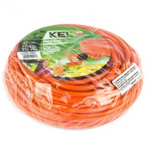 Przedluzacze-elektryczne - przedłużacz ogrodowy 25-metrowy w kolorze pomarańczowym z uziemieniem 3x1,5mm2 16a 4000w po-st/25m plastrol