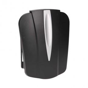 Dzwonki-do-drzwi-przewodowe - czarny dzwonek gong dwutonowy 230v or-dp-vd-141/b orno