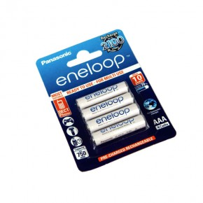 Baterie - akumulator hr03/b4 750 mah ready to use eneloop/panasonic
