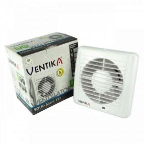 Wentylatory-z-wylacznikiem-czasowym - wentylator łazienkowy z wyłącznikiem czasowym biały ø125 31db solid silent d 125sr wc ventika