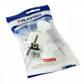 Przedluzacze-elektryczne - wtyczka rozbieralna biała wt-40 plastrol