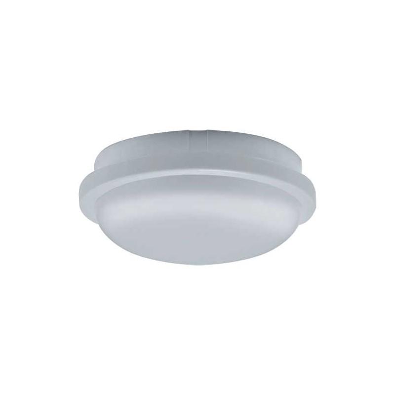 Plafony - oprawa hermetyczna sufitowa led biała 4000k 18w ip54 filip led c 03818 ideus firmy IDEUS