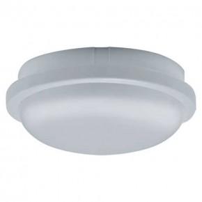 Plafony - plafon hermetyczny led biały o mocy 24w neutralne światło 4000k 1700lm filip led c 03819 ideus