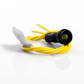 Lampki-kontrolne - d.3305 lampka kontrolna 5/250v żółta pawbol