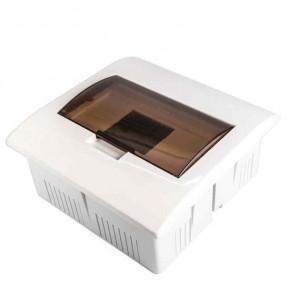 Skrzynki-elektryczne - skrzynka rozdzielcza natynkowa biała 7 modułowa s-7pt plastrol