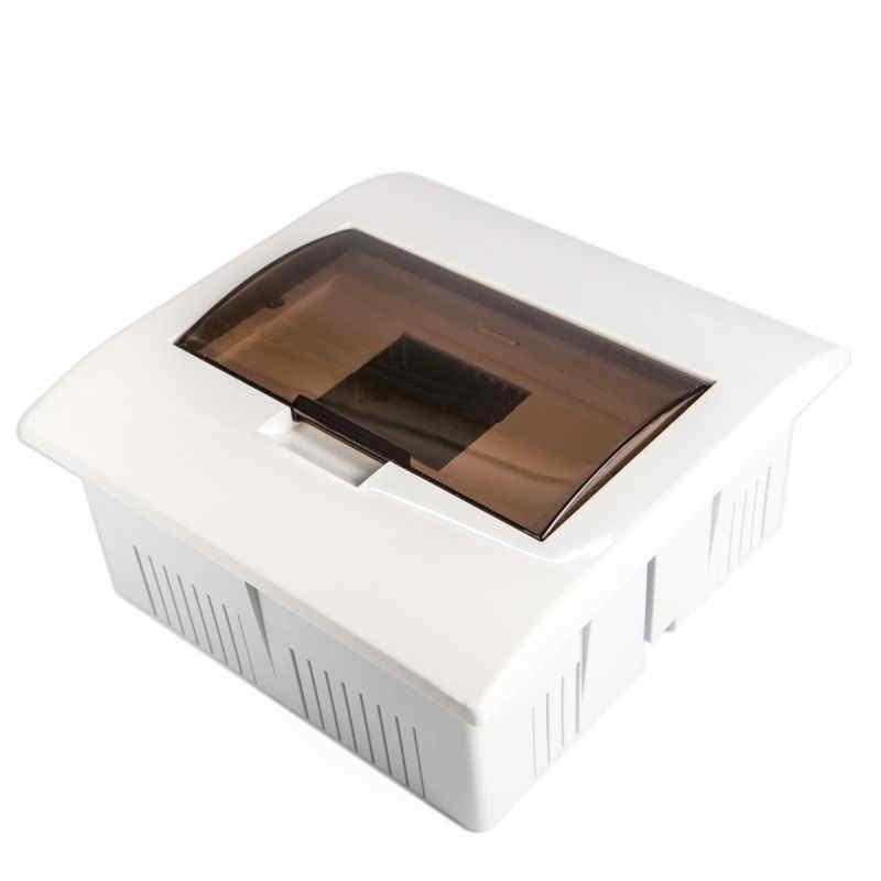 Skrzynki-elektryczne - skrzynka rozdzielcza natynkowa biała 7 modułowa s-7pt plastrol firmy PLAST-ROL