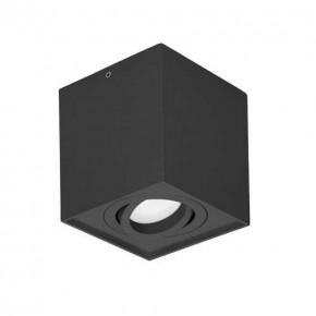 Oprawy-sufitowe - natynkowa oprawa suftiowa kwadratowa downlight czarna 35w carolin dls or-od-6145bgu10 orno