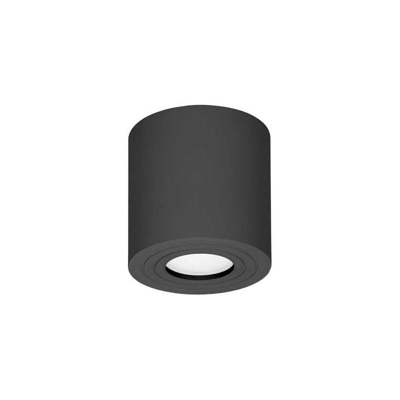 Oprawy-sufitowe - oprawa sufitowa tuba czarna downlight ip54 50w megy dlr or-od-6144bgu10 orno firmy ORNO