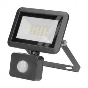 Naswietlacze-led-20w - naświetlacz led z czujnikiem ruchu pir 20w czarny bulled s or-nl-6136blr4 orno