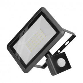 Naswietlacze-led-30w - naświetlacz z czujnikiem ruchu pir o mocy 30w 4000k 2400lm bulled s or-nl-6137blr4 orno