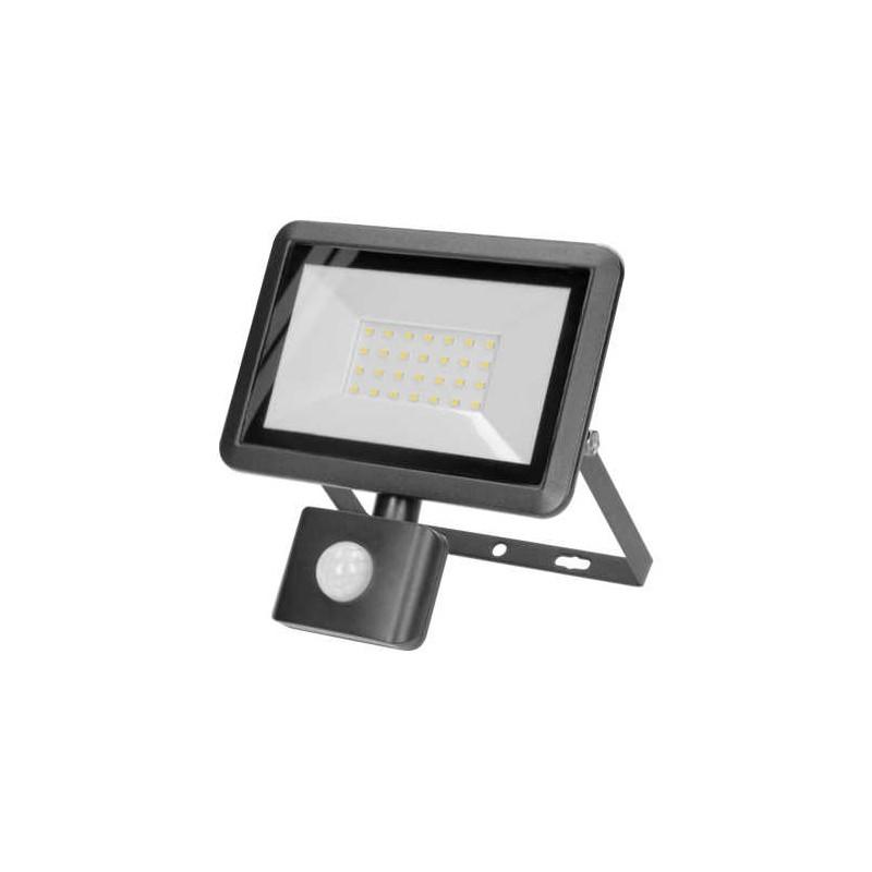 Naswietlacze-led-30w - naświetlacz z czujnikiem ruchu pir o mocy 30w 4000k 2400lm bulled s or-nl-6137blr4 orno firmy ORNO