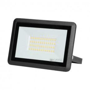 Naswietlacze-led-50w - czarny naświetlacz led 50w z neutralnym światłem 4000k ip65 or-nl-6138bl4 bulled orno