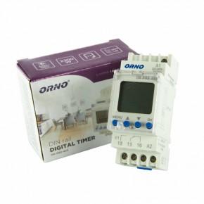 Sterowanie-czasowe - elektroniczny programator czasowy na szynę din or-pre-433 orno